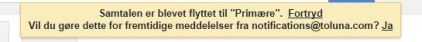 Flytte